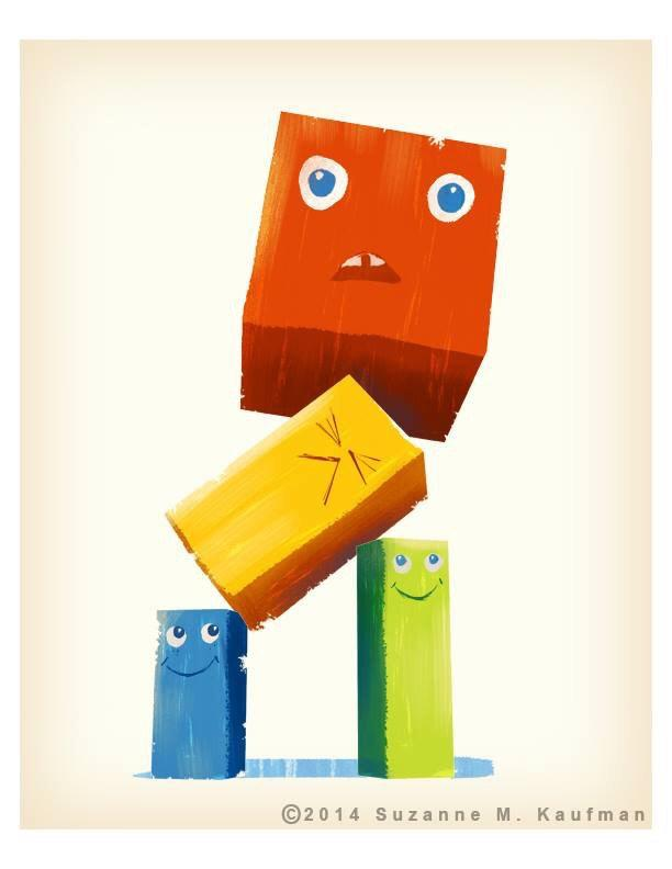 I love blocks by Suzanne Kaufman