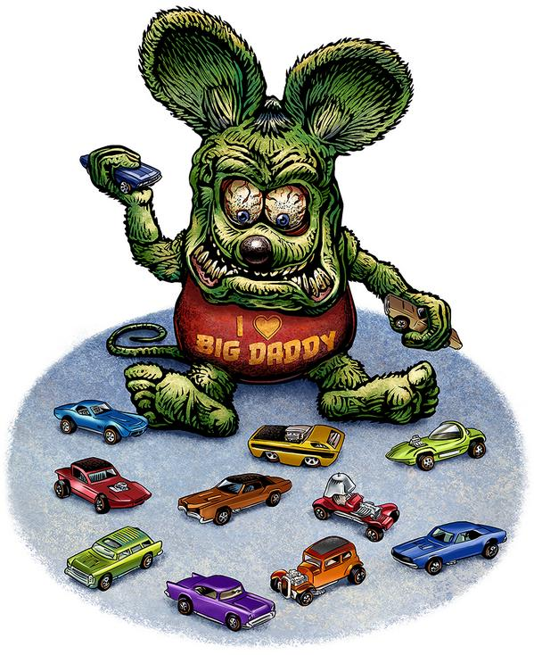Ratfink by Chet Phillips