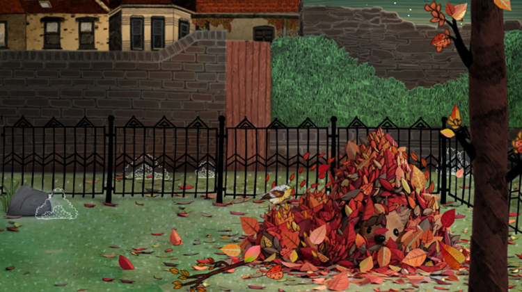 Harry Under Leaves