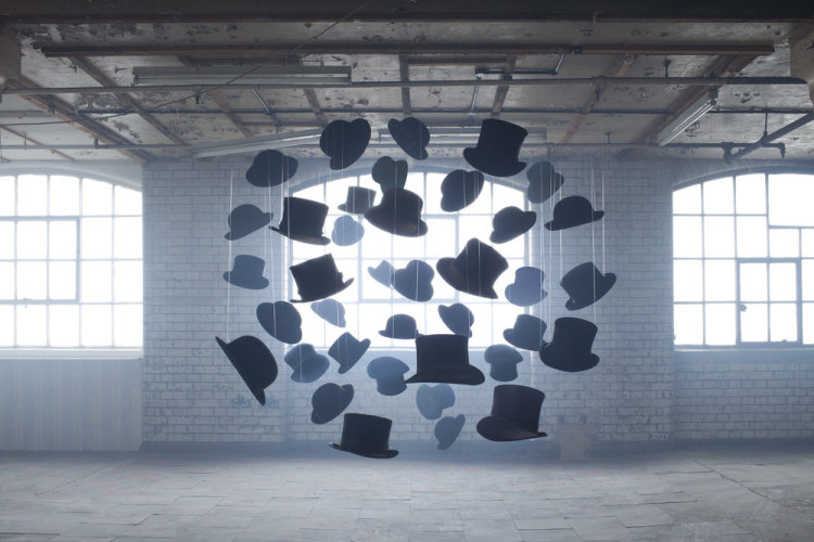 Eerie Shape and Letter Installations by Nicola Yeoman