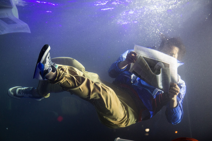 Holoscenes Underwater Performance Installation