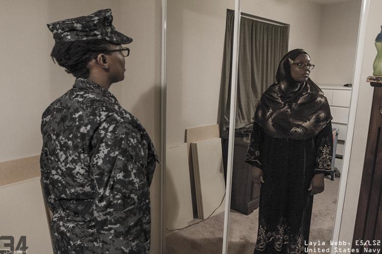 Layla Webb, E5:LS2 US Navy