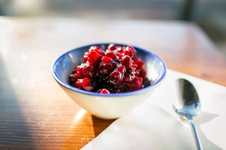 Oregon-Cranberry Sauce