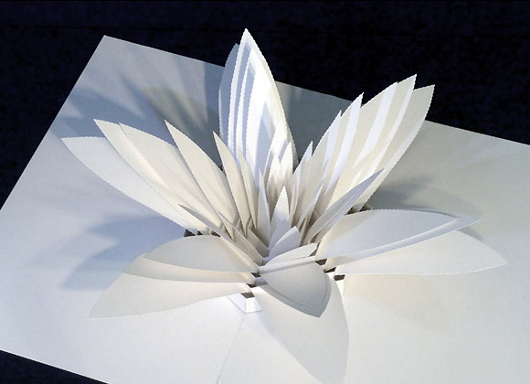 Incredibly Complex Paper Pop-Up Sculptures by Peter Dahmen