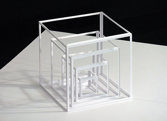 Paper Pop-Up Sculptures by Peter Dahmen