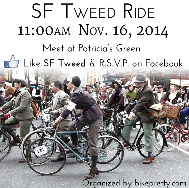 2014 San Francisco Tweed Ride