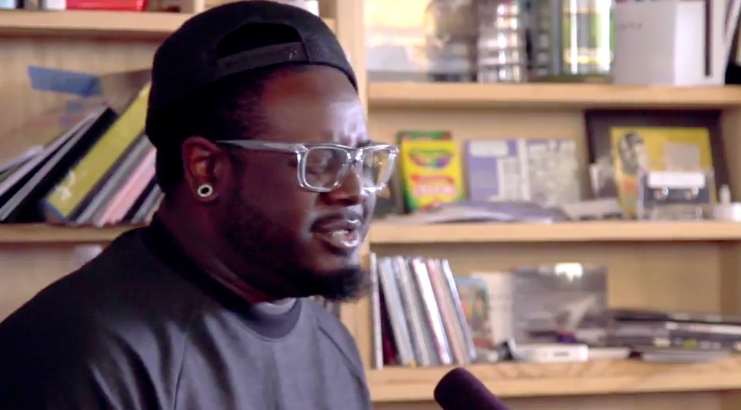 T-Pain Drops Auto-Tune and Sings in His Own Soulful Voice in a 'Tiny Desk Concert' for NPR