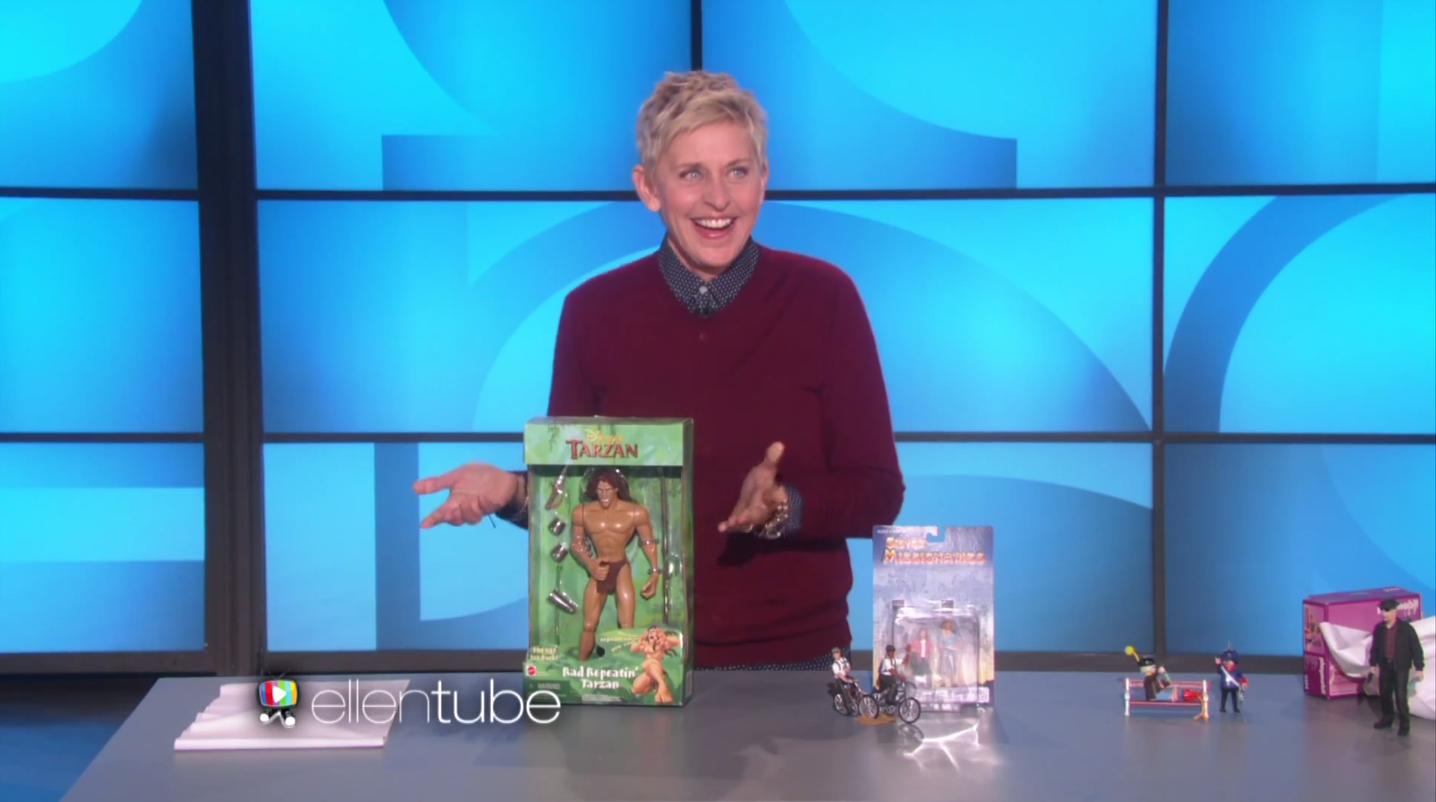Ellen degeneres shows off some questionably inappropriate toys on ellen - Ellen show address ...