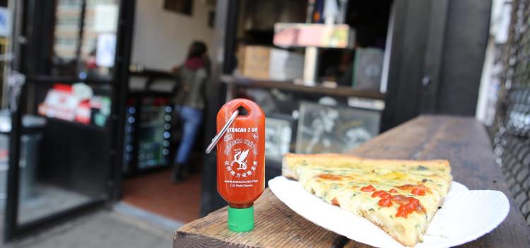 Sriracha Pizza