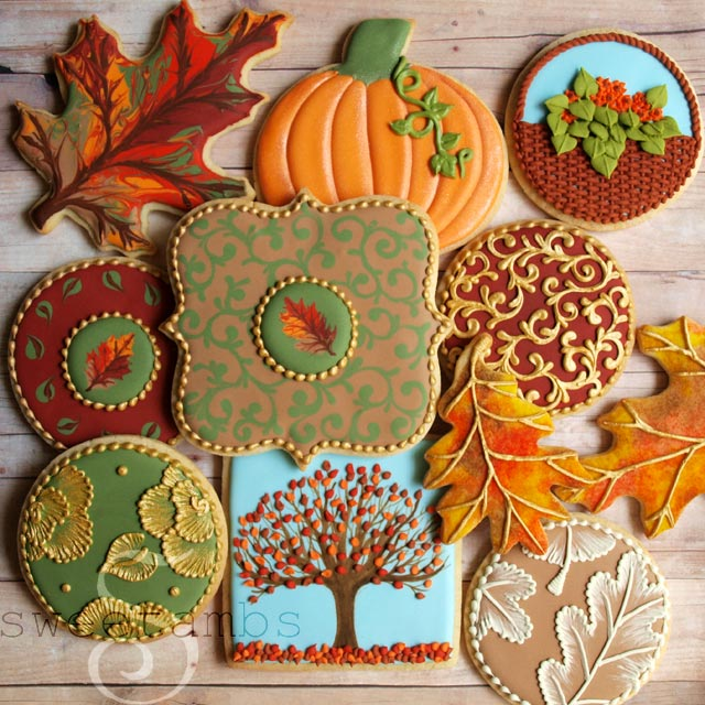 Beautifully Intricate Cookie Decorations by SweetAmbs