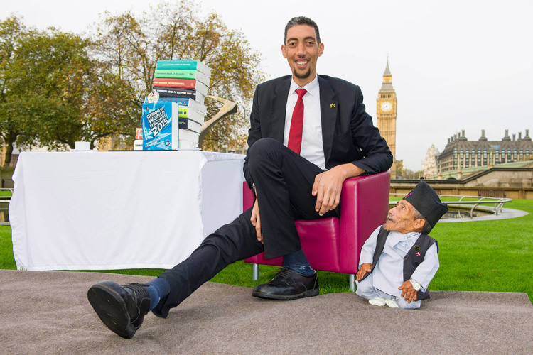 Tallest Man Shortest Man
