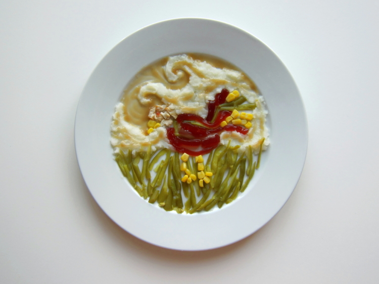 Famous Artists Thanksgiving Meals by Hannah Rothstein