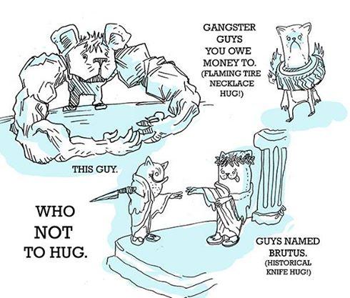 Who Not to Hug