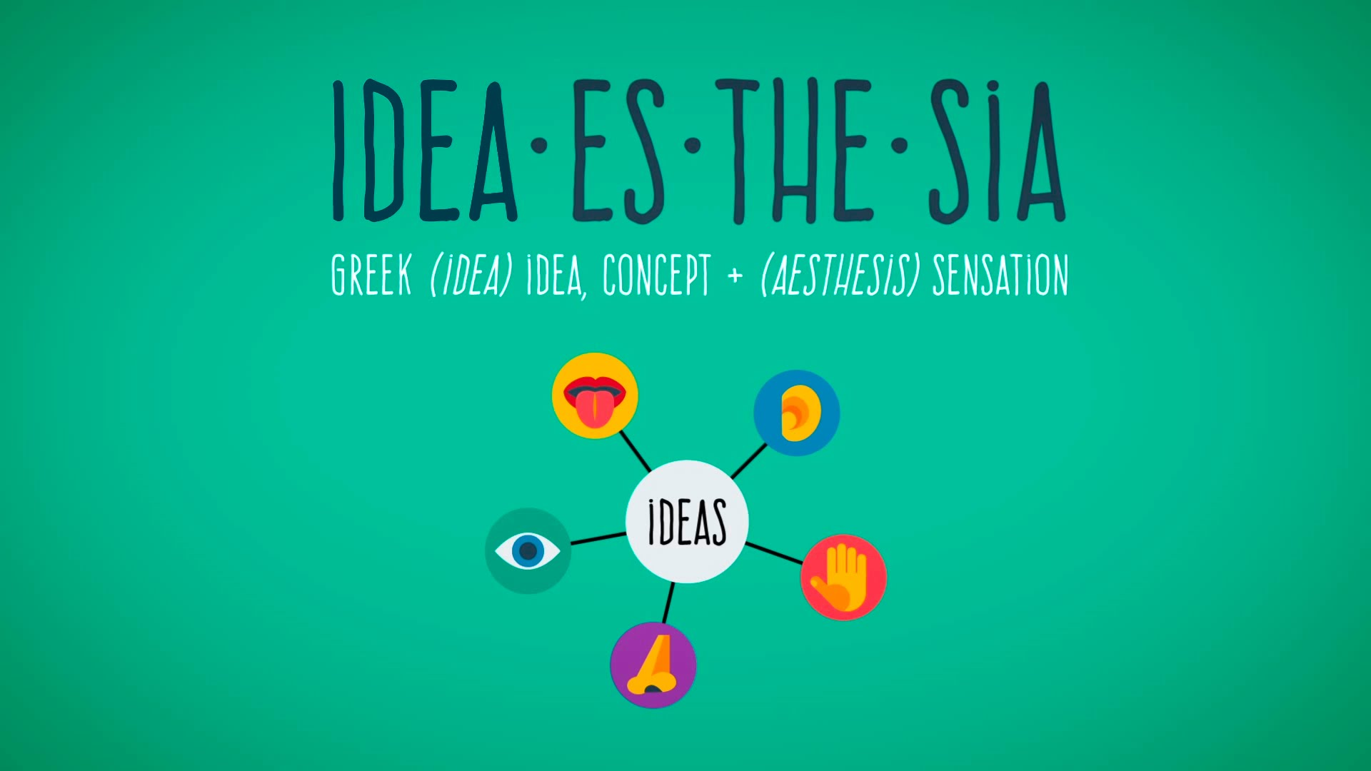 A TED-Ed Animation Explains How Our Brains Process Sensory Data and the Theory of Ideasthesia