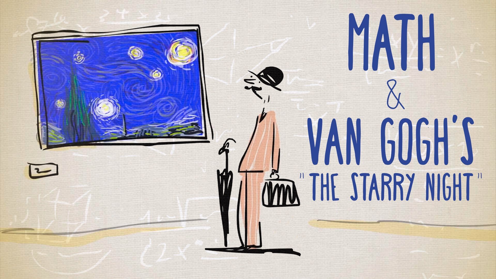 A TED-Ed Animation Exploring the Ways Van Gogh Paintings Captured Light and Fluid Movement