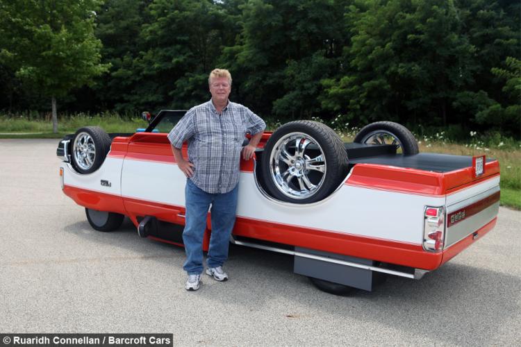 Upside Down Truck