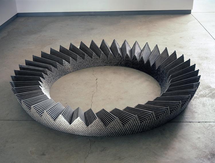 Metal Nail Sculptures by John Bisbee