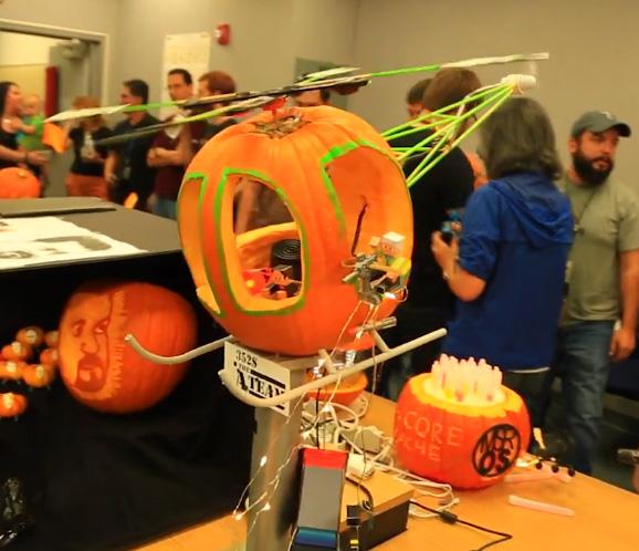 NASA Jet Propulsion Laboratory Pumpkin Contest