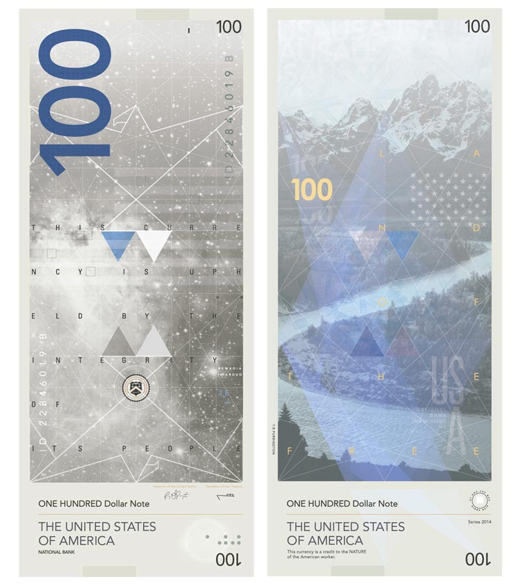 Dollar Bill Redesign by Travis Purrington