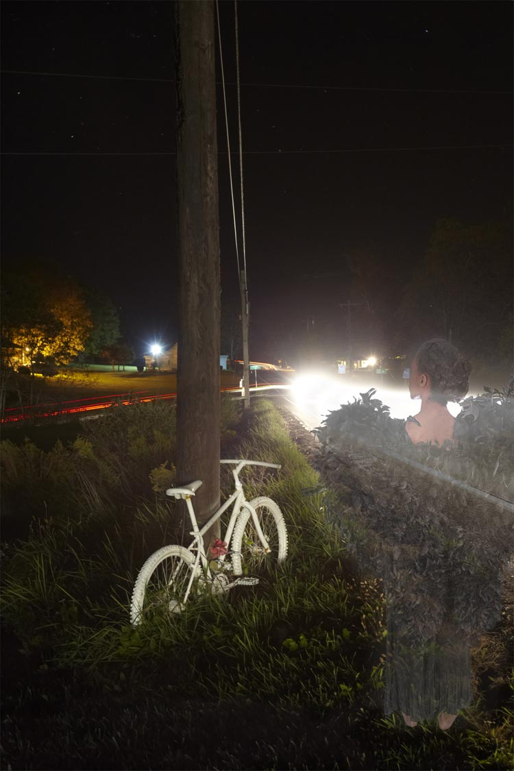 Ghost Bike Photo Project by Genea Barnes