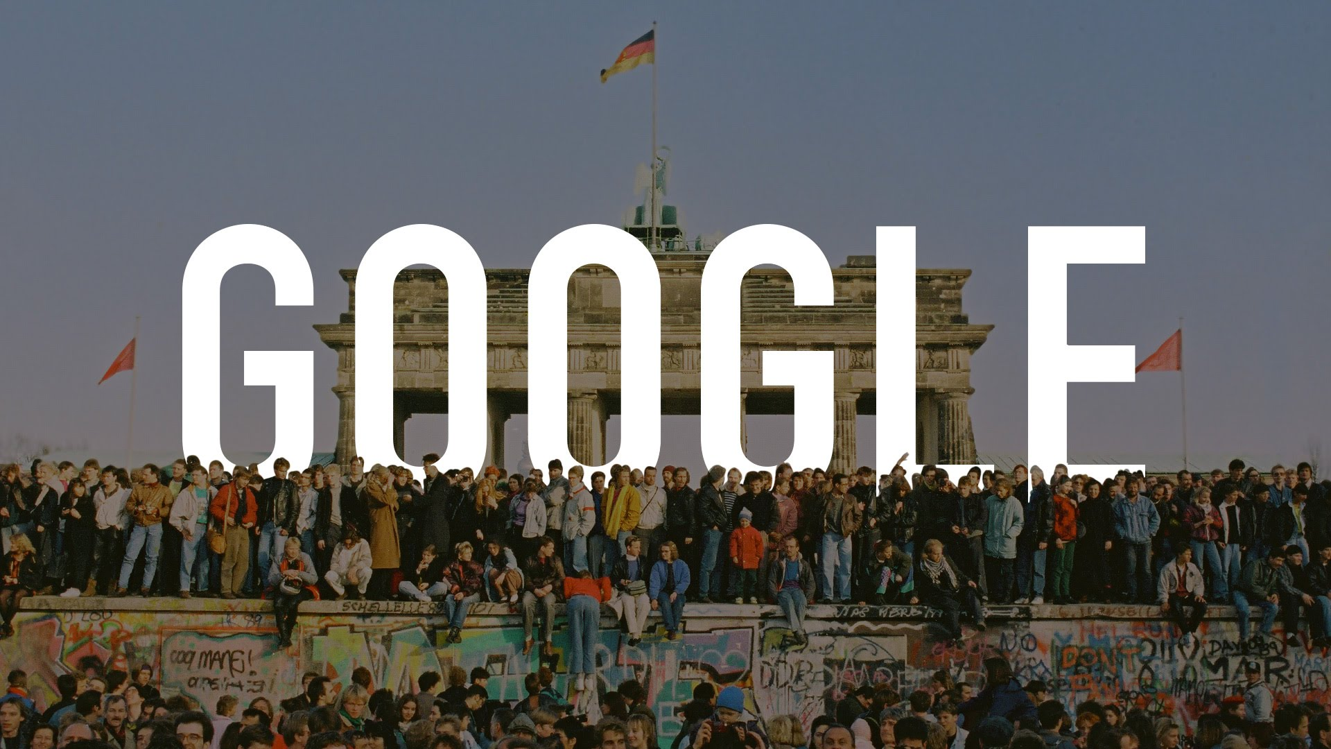 Google commemorates the 25th anniversary of the fall of the berlin google commemorates the 25th anniversary of the fall of the berlin wall with a google video doodle ccuart Gallery
