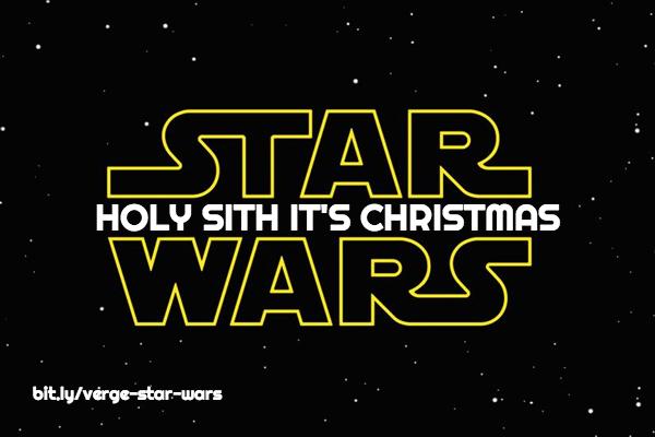 Holy Sith Christmas