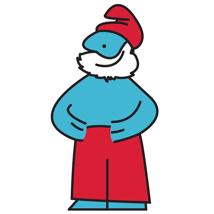 IKEA Man Papa Smurf