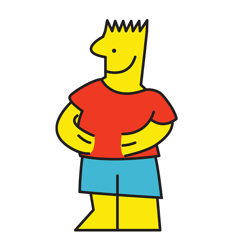 IKEA Man Bart Simpson