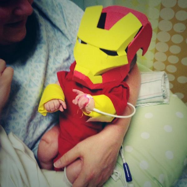 Iron Man Baby