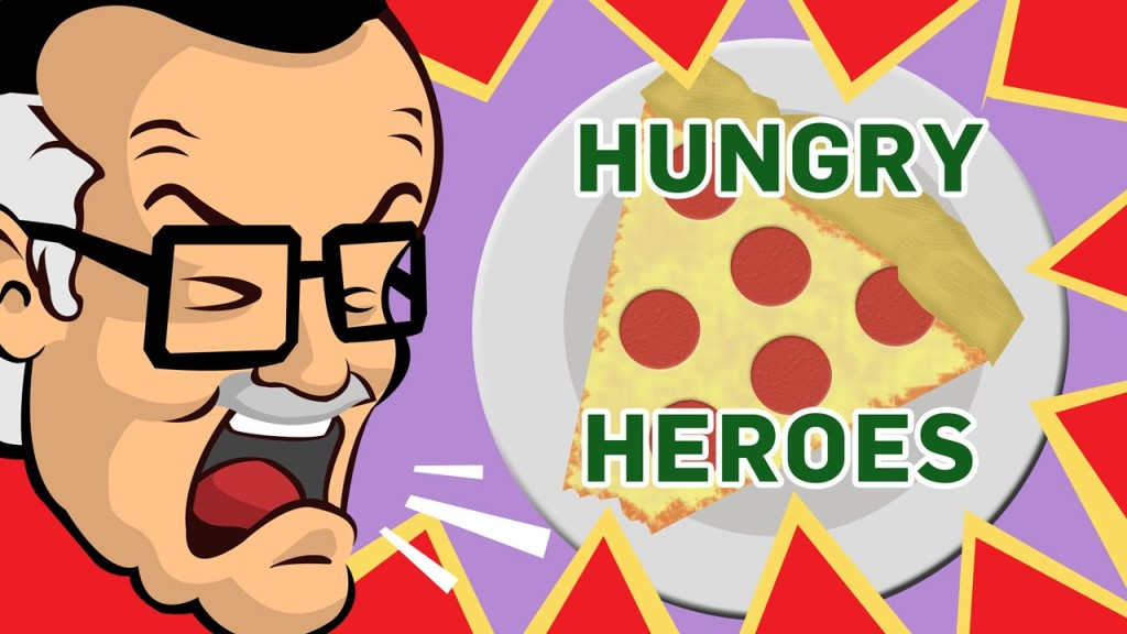 Legendary Comic Creator Stan Lee Rants About the Eating Habits of Superheroes
