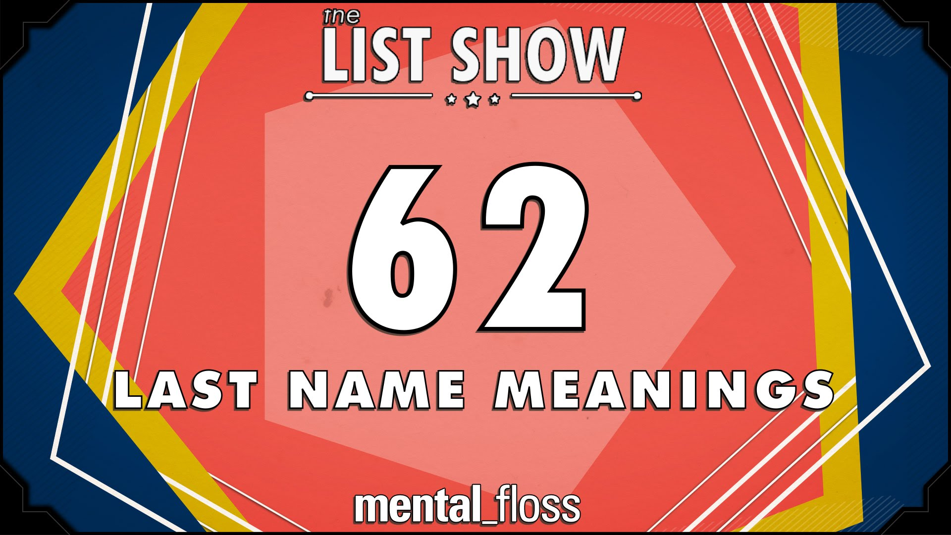 Mental Floss Explains the Meanings of Many Common Last Names