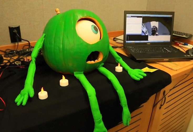 The Astonishingly Sophisticated Techno-Pumpkins Created at the NASA Jet Propulsion Laboratory Pumpkin Carving Contest