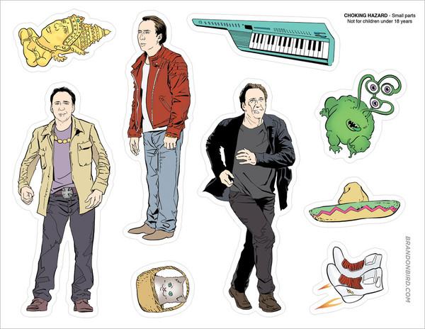 The Nicolas Cage Adventure Set