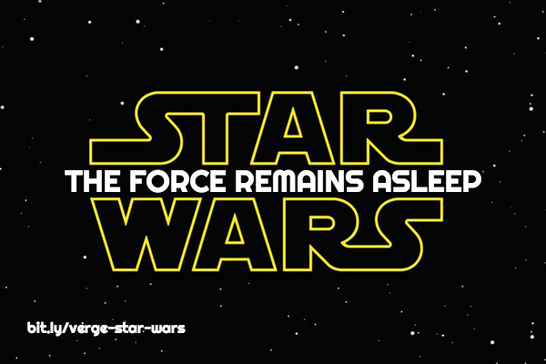The Force Remains Asleep