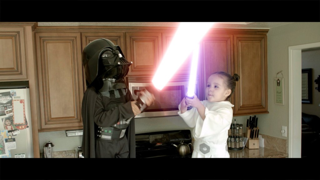 'Star Wars Jedi Babies – Crib Wars Episode I', Special Effects Video of Kids Using the Force to Fight Over a Cupcake