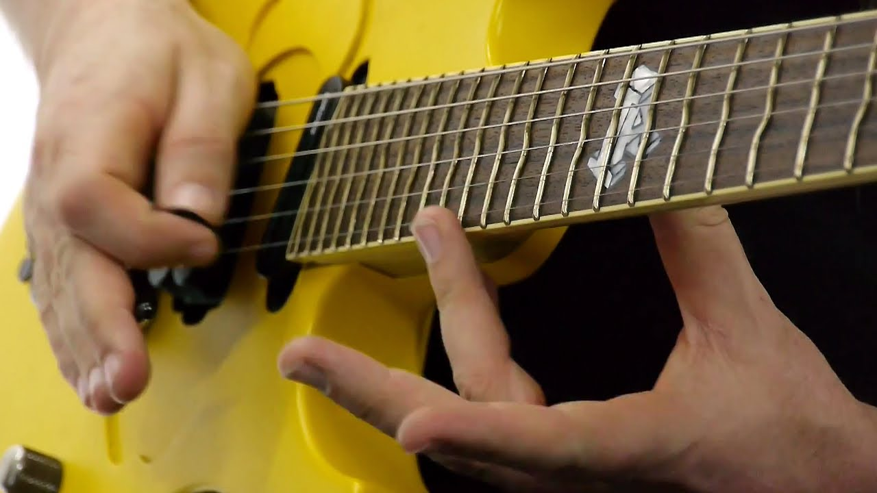 Swedish Guitarist Mattias Eklundh Demonstrates How to Create Eardrum-Piercing Harmonic Sounds