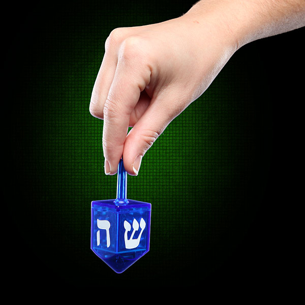 Critical Hit Dreidel