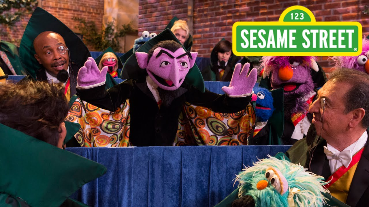 The Count Is Offered The Noble Prize For Counting On Sesame