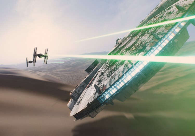 First 'Star Wars: The Force Awakens' Teaser Trailer Features New Characters and Classic Ships