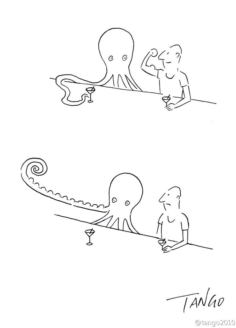 Wonderfully Simple Web Comics by Tango