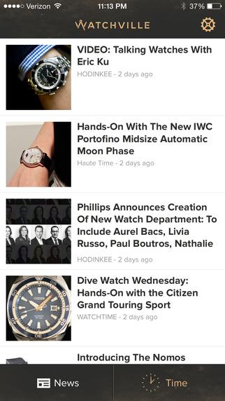 Watchville App
