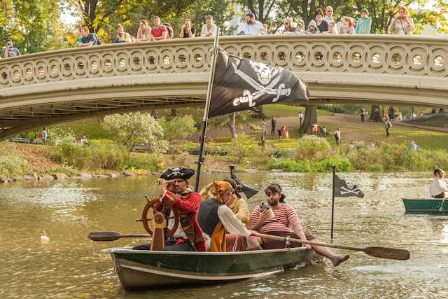 The Pirates of Central Park by Improv Everywhere