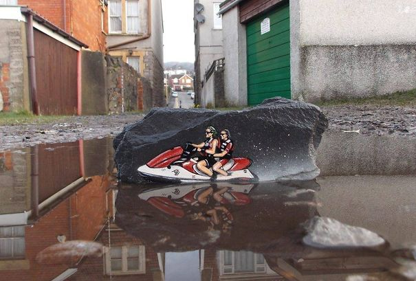 Banksy-Inspired Street Art by Jamie Scanlon aka JPS
