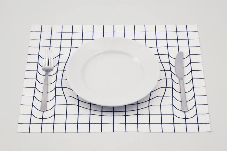 3D Illusion Trick Placemat