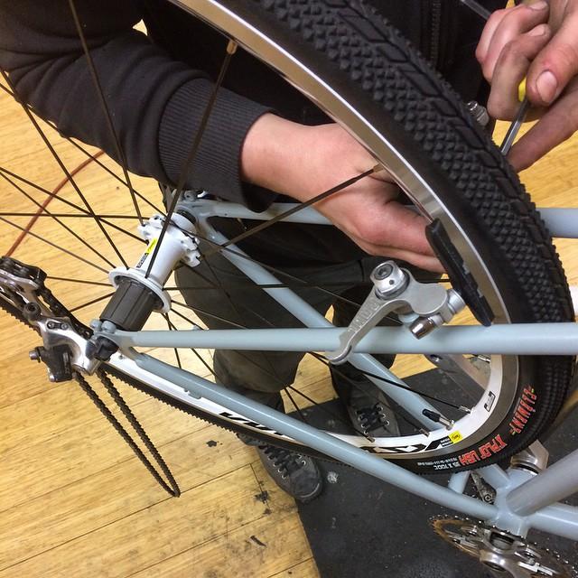 Hub Powderworks Retroreflective Powder Coating for Bicycles