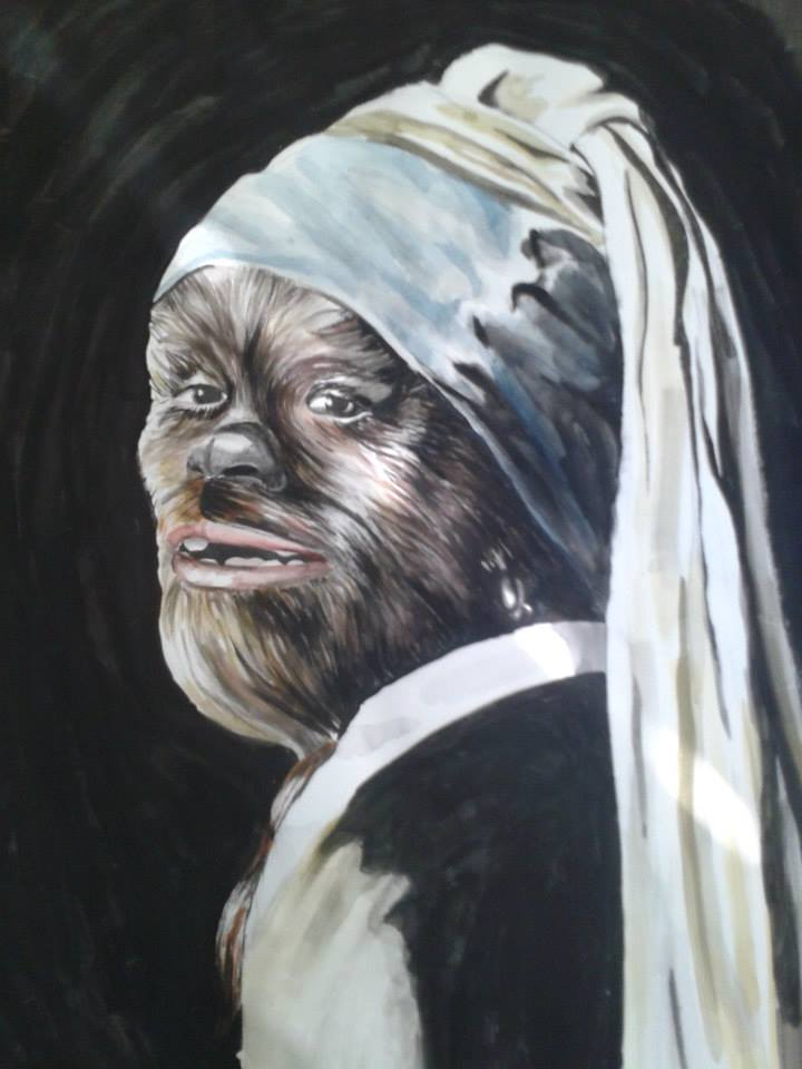 Wookiee with a Pearl Earring