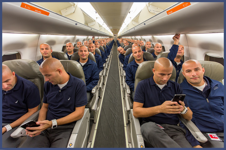 100 Tims on a Plane by Timothy LaBranche
