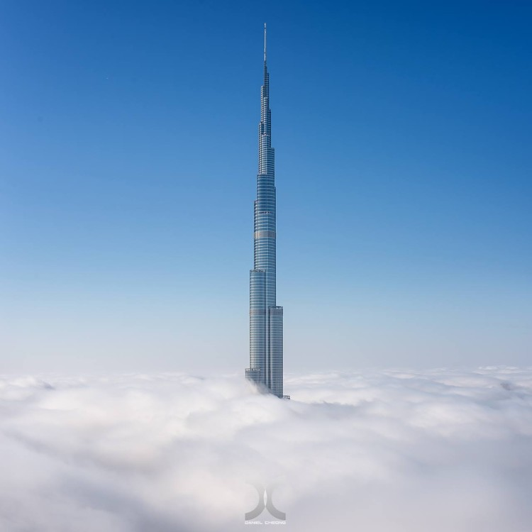 Dubai Fog Photos by Daniel Cheong