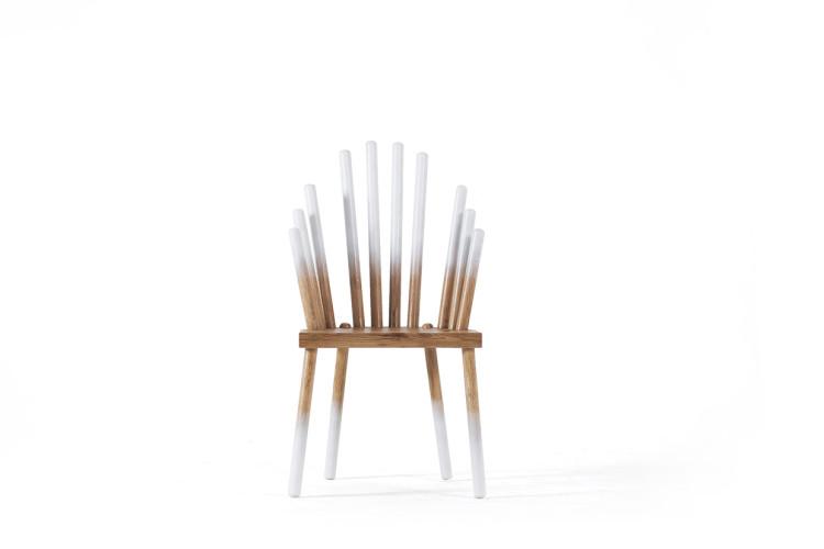 Foggy Chair by Daria Pavlova