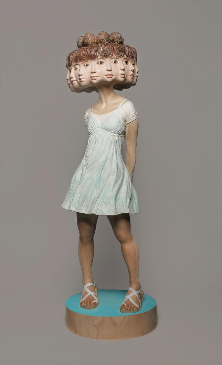 More Surreal Fused Figure Sculptures by Yoshitoshi Kanemaki